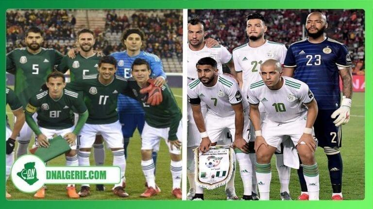 Football : l'Algérie affrontera le Mexique en amical