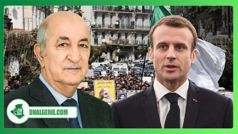 France-Algérie : Emmanuel Macron donne son point de vue sur le Hirak