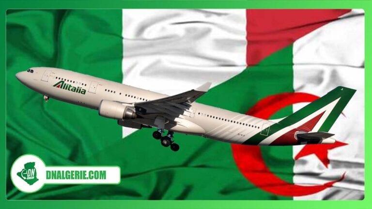 Italie-Algérie : voici tous les détails relatifs aux vols spéciaux programmés