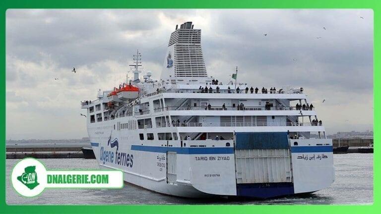 Reprise des traversées maritimes : les précisions d'Algérie Ferries