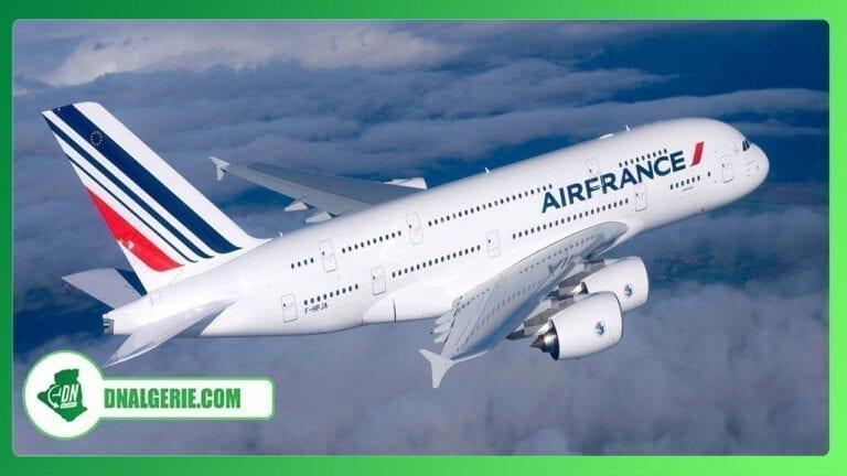 Vols vers l'Algérie : Air France dévoile son programme