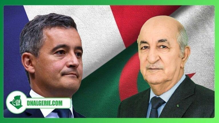 Algérie-France : Gérald Darmanin attendu à Alger cette semaine