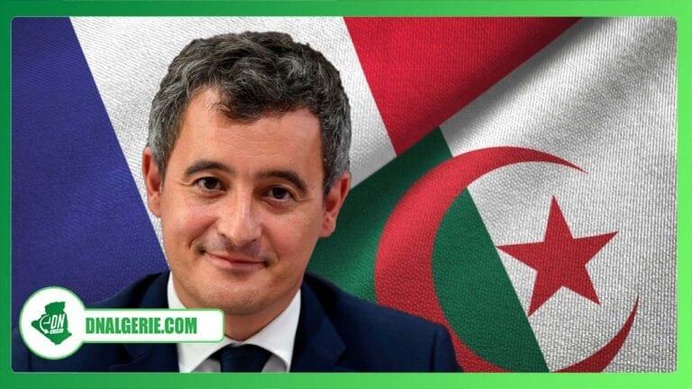 Algérie-France : Gérald Darmanin suscite une vive polémique