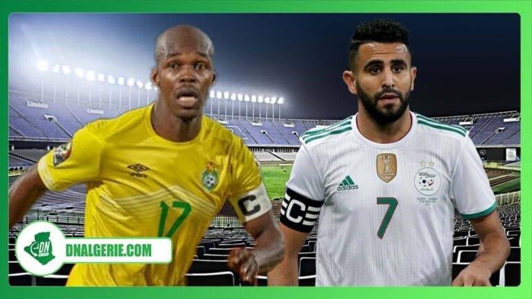 Éliminatoires CAN 2021 : l'équipe d'Algérie domine le Zimbabwe (résumé)