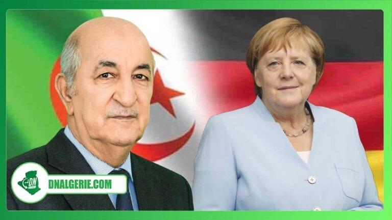 Algérie : Angela Merkel envoie un message à Abdelmadjid Tebboune