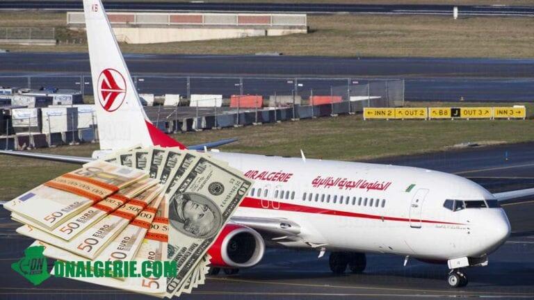 Vols annulés : les pertes colossales que risque de subir Air Algérie