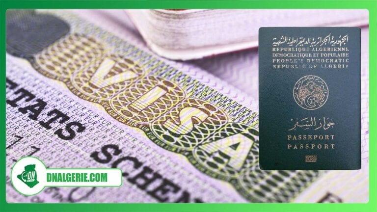 Visas Schengen pour les algériens : de nouvelles mesures seront mises en place par l'UE