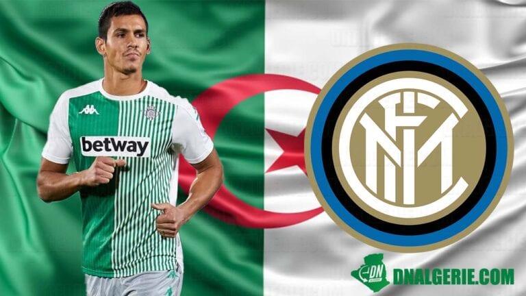 Football : un international algérien suscite l'intérêt de l'Inter Milan
