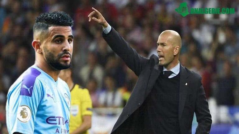 Football : l'International algérien Riyad Mahrez dans le viseur du Real Madrid