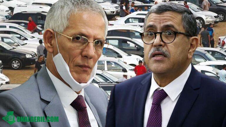 Polémique autour de l'importation des véhicules en Algérie : Djerad dézingue Ait Ali