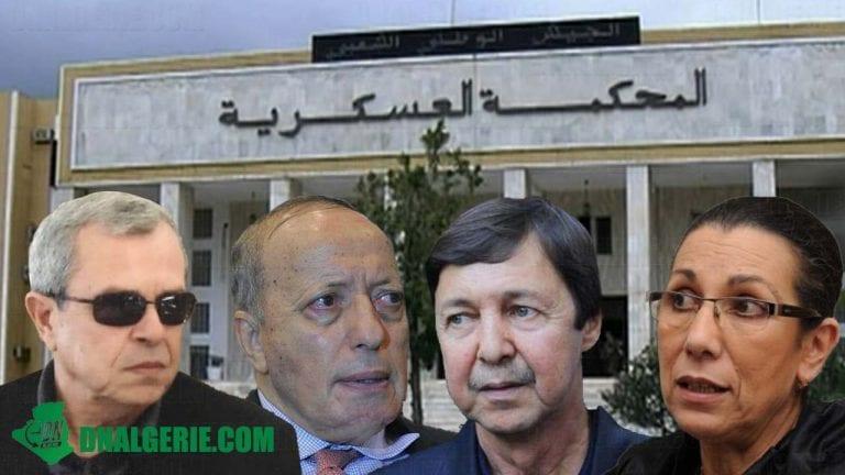 Jugés pour complot contre l'autorité de l'État : Toufik, Tartag, Saïd Bouteflika et Hanoune acquittés