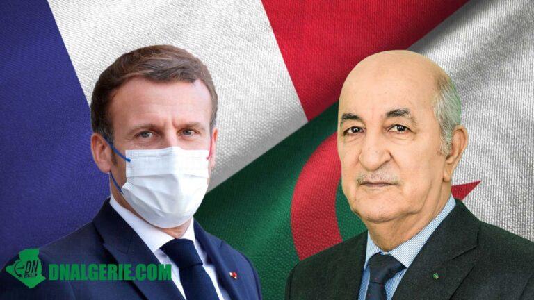 Algérie-France : Tebboune reçoit un nouvel appel téléphonique de Macron (Présidence)