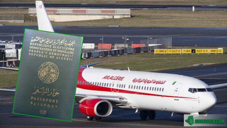 Algérie : baisse drastique du nombre de voyageurs en 2020