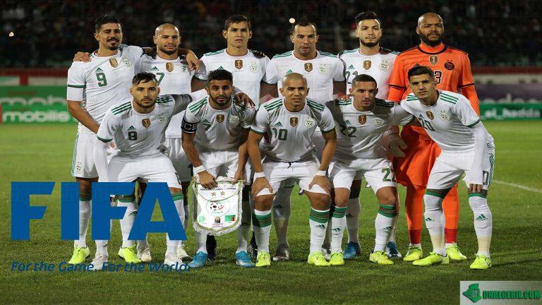 Classement FIFA : voici la place de l'Algérie en février