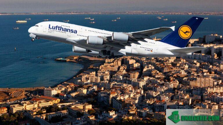 Vols au départ de l'Algérie en Mai : Lufthansa dévoile son programme