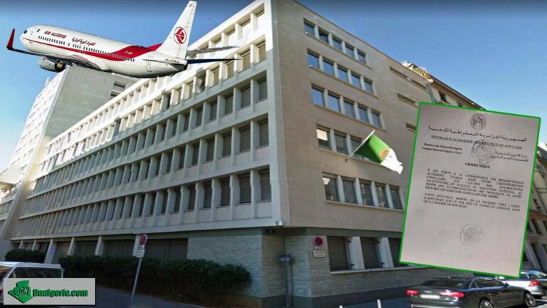 Autorisation d'entrée en Algérie : communiqué du consulat algérien à Lyon