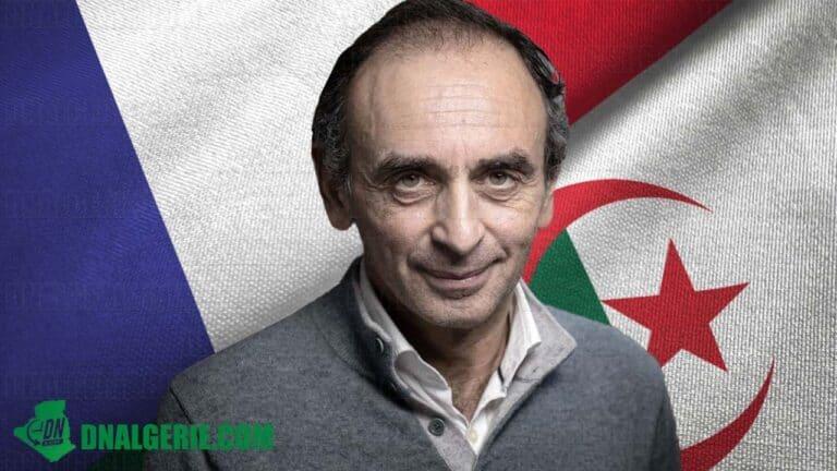 France : Éric Zemmour revient à la charge contre les algériens