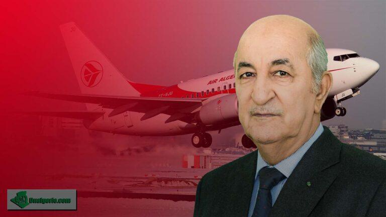 Alerte. Reprise des vols d'Air Algérie : le gouvernement assouplit les mesures (Présidence)