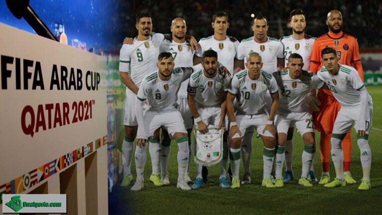 Coupe arabe des nations : voici les joueurs algériens concernés