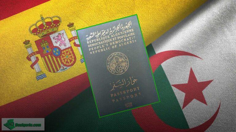 Voyages touristiques pour les algériens : l'Espagne met à jour ses conditions