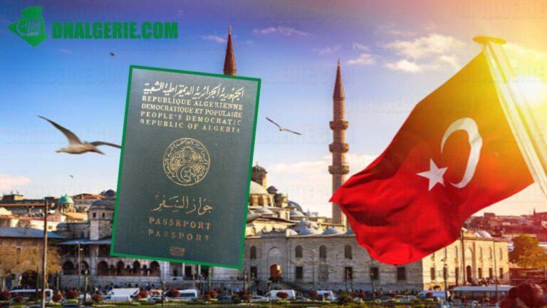 Visas Turquie pour les algériens : Gateway apporte de nouvelles précisions