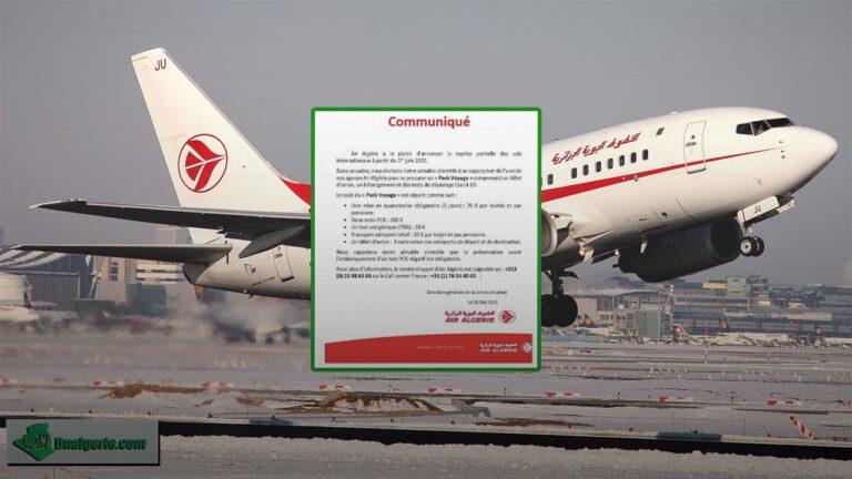 Vols vers l'Algérie : une nouvelle compagnie entre en lice à partir d'octobre