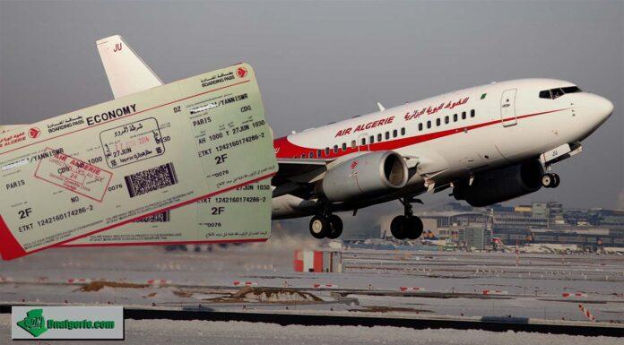 France Algérie prix vols