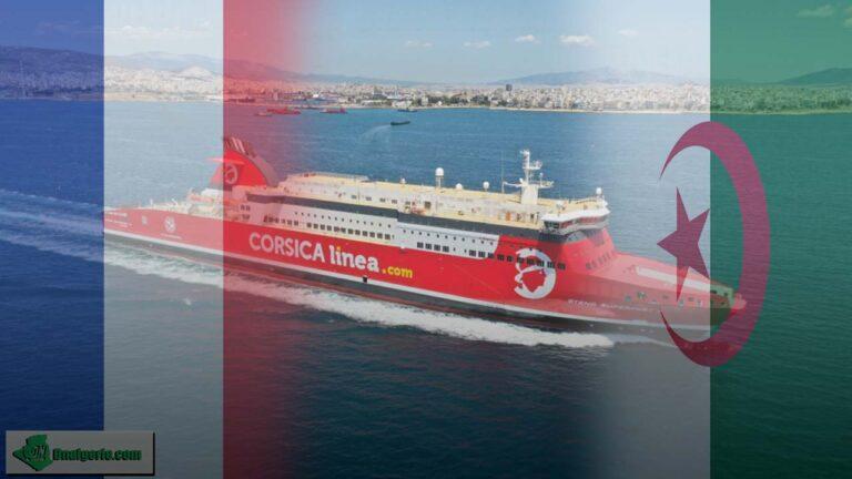 Traversées vers l'Algérie : Corsica Linea s'exprime