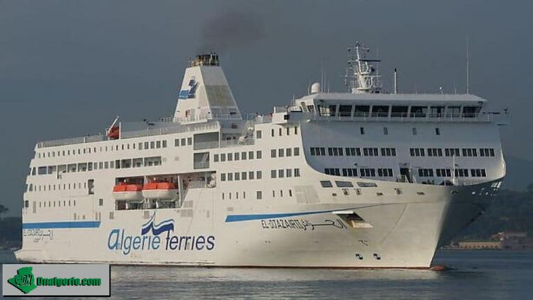 Conditions de voyage, tarifs, nombre de places : tout ce qu'il faut savoir sur la reprise d'Algérie Ferries